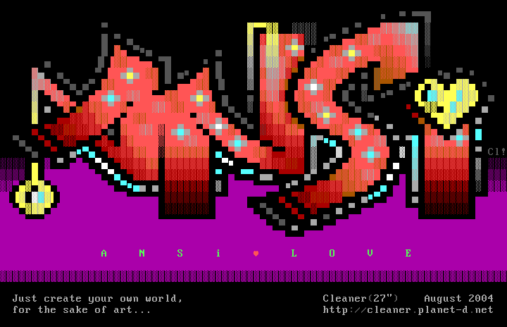 Ansilove ANSi by Cleaner