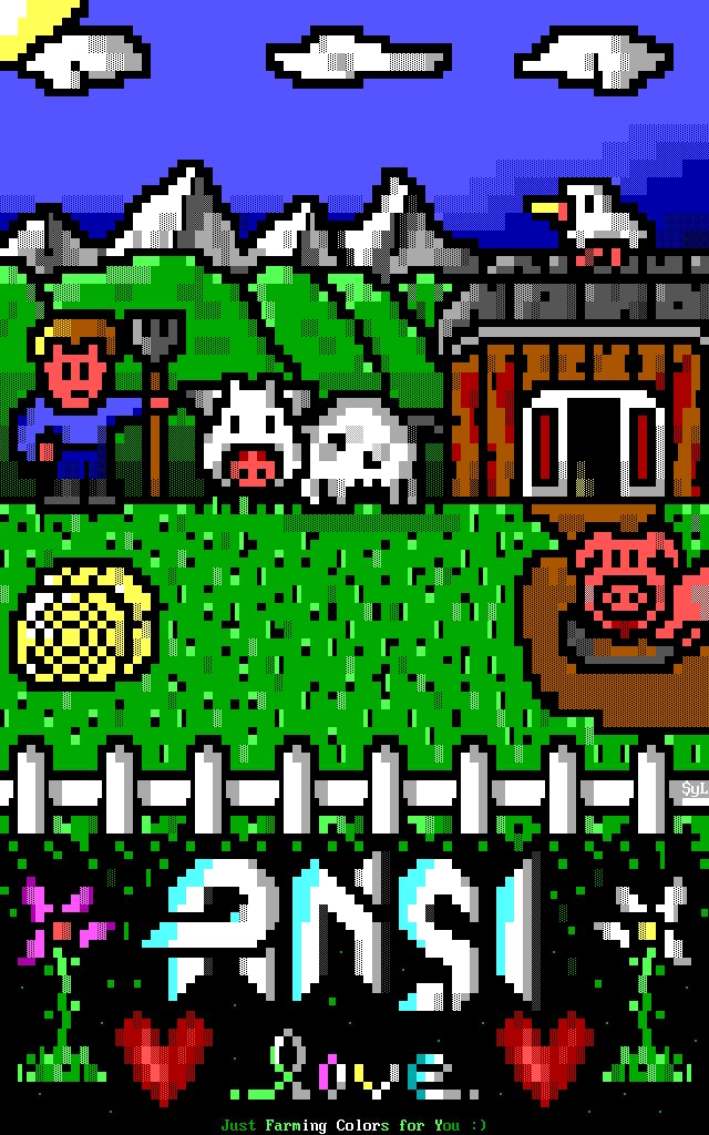 Example ANSi by Sylvao
